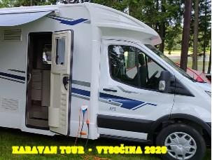 Karavan Tour - Vysočina 2020 - Zobrazit knihu